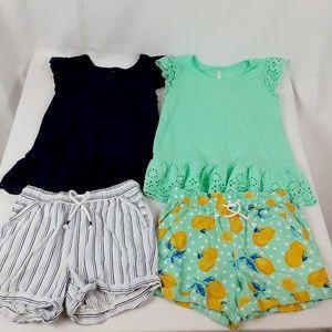Wonder Nation Tshirt & Shorts Set Large 10 - 12